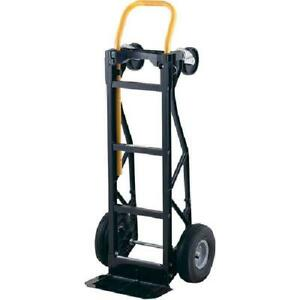 Dolly Moving Cart Convertible Hand Truck Stair Climbing Warehouse Heavy Duty Usa
