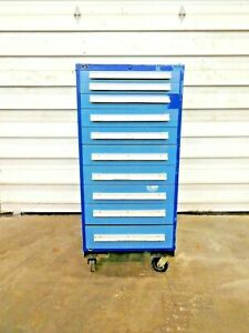 Mo 3206 10 Drawer Industrial Tool Cabinet On Wheels