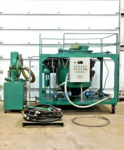 Mo 3554 Engine Oil Recycling System Lye 1000 58 Kw 1000 L d Flow 220 V 3ph