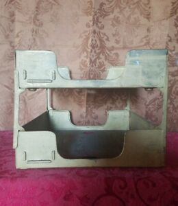 Vintage Desk Tray Two tier Metal In And Out Mail Box Organizers