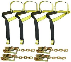 Tie Down Straps Ratchets For Rollback Car Carrier Century Jerrdan Others