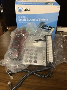 At t 4 line Small Business System 1040 Phone open Box New Complete B2