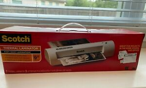 new In Box 3m Scotch Thermal Laminator Tl901c 9 Width Classroom Free Ship