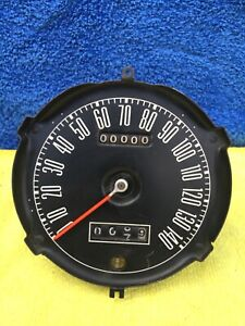 1967 1968 Mustang 140 Mph Speedometer W Trip Odometer For Factory Tach Dash Wow