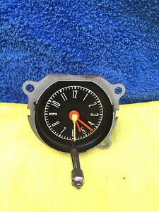 1967 1968 Mustang In Dash Clock C7zf 15000 Very Clean True Oem