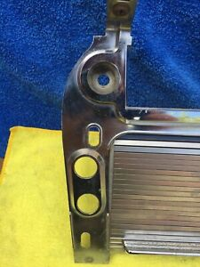 1968 Mustang Cougar Floor Console Radio Bezel Plate A Casting Oem