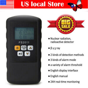 Fs2011 Real time Geiger Counter Nuclear Radiation Detector Dosimeter Us
