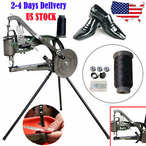 Hand Cobbler Shoe Repair Sewing Machine Making Dual Cotton Nylon Thread Leather