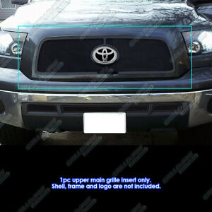 For 2010 2013 Toyota Tundra Black Stainless Steel Mesh Grille Grill Insert
