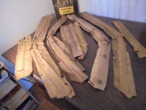 1963 1964 Buick Oldsmobile Gm Nos 4dr And Station Wagon Door Scalp Moldings