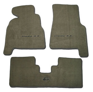 1994 1995 1996 Chevrolet Chevy Impala Ss Very Custom Floor Mats With Embroidery