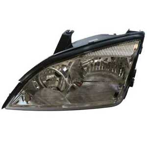 Driver Left Headlight Headlamp Assembly For 2005 2007 Ford Focus W O Hid