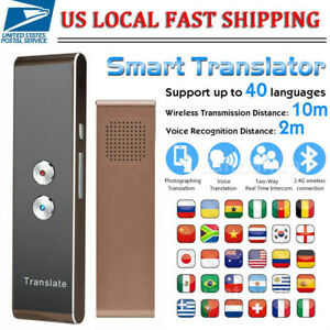 T8 Translaty Muama Enence Smart Instant Real Time Voice 40 Language Translator