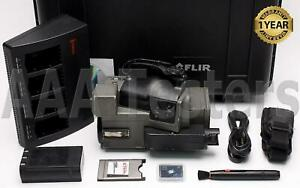 Flir Pm695 Thermacam 320 X 240 Infrared Thermal Imaging Camera Pm 695 Imager
