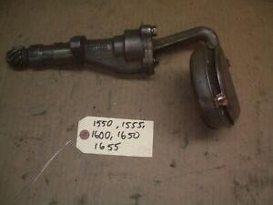 Oliver 1550 1555 1600 1650 1655 Farm Tractor Factory Oil Pump Very Nice