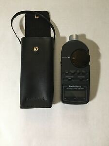 Radioshack Sound Level Meter With Leather Case Tested Clean