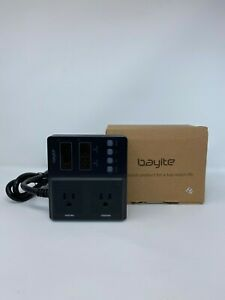 Bayite 110v Digital Temperature Controller Thermostat 2 Relays Outlet Switch