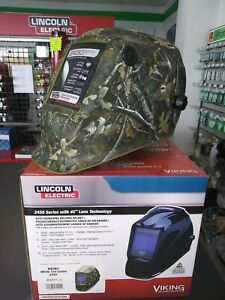 Welding Helmet camouflage Graphic green K4411 3 White Tail Camo