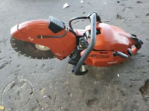 Hilti 14 Concrete Saw Dsh 900 x Gas Powered Power Cutter Cut Off Low Hours