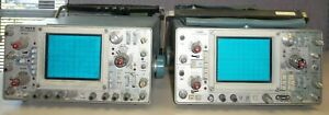 Tektronix 465 465b Scope lot Of 2
