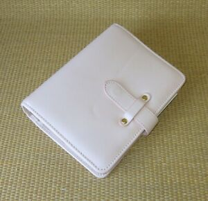 Compact Franklin Covey new Blush Leather bella 1 25 Rings Planner binder