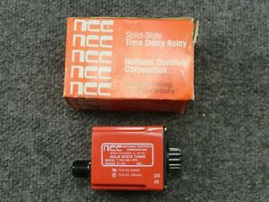 New Unused Ncc National Controls T3k 00060 462 Time Delay Relay Timer T3k 60 462