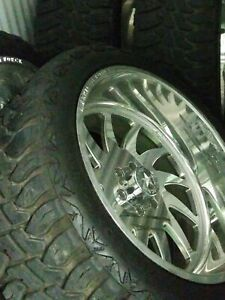 American Force Spirit Dually Rims W tires 35