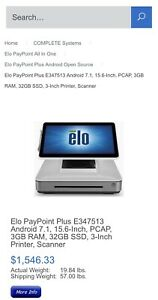 Elo Touch Solutions Paypoint All in one Pos White