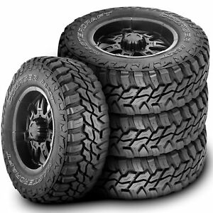 4 New Mastercraft Courser Mxt Lt 305 65r17 Load E 10 Ply M t Mud Tires