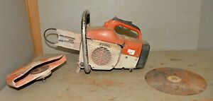 Stihl Ts 400 14 Concrete Saw For Parts Repair Demolition Chop Saw Vintage Tool