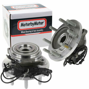 For 2012 2013 Ram 2500 3500 2 Front Wheel Bearing Hub Assembly 4x4 8 lug