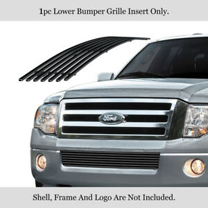 Fits 2007 2014 Ford Expedition Lower Bumper Stainless Grille Insert