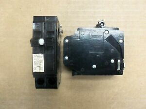 Crouse hinds Mh mm Mh250 2 Pole 50 Amp 120 240v Circuit Breaker Metal Clip
