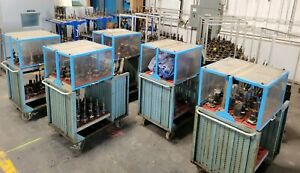 500 Ct 50 Tool Holders With Carts