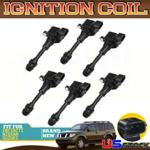 Uf349 Ignition Coil Pack Fits 3 5 4 0 V6 Altima Maxima Frontier Xterra Set Of 6