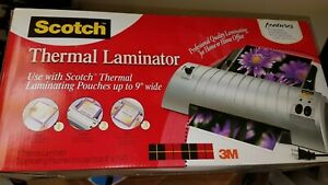 Scotch Thermal Laminating Pouches 9 X 11 4 Inches
