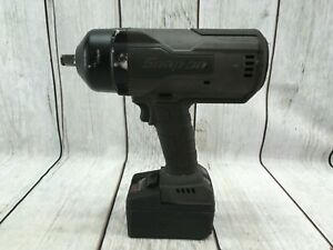 Snap On Ct9075gm Lithium Brushless Cordless Impact Wrench 18v 1 2 W Battery