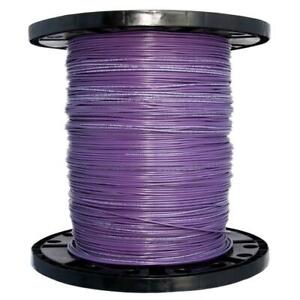 500 Ft Stranded 14 Gauge Cu Thhn Wire Electrical Residential Cable Purple Wiring