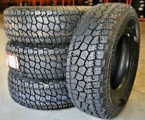 4 New Radar Renegade A t Lt 245 75r17 Load E 10 Ply At All Terrain Tires