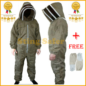 Beekeepers Bee Suit Beekeeping Coverall Protective Clothing All Sizes