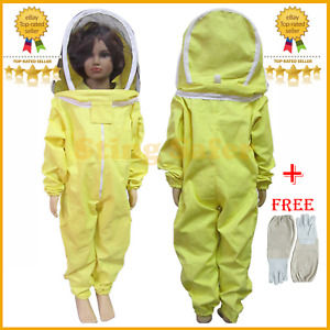 Kids Personal Protective Safety Suit Coverall Suit For Professional Beekeepers