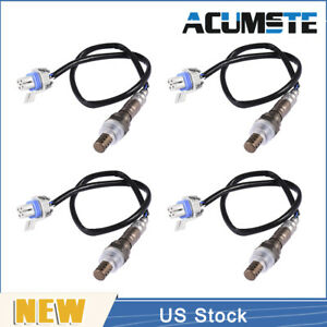 Vehicle O2 Oxygen Sensor X4 234 4647 For Cadillac Chevy Hummer Gmc Truck Van Us