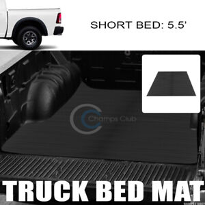 Fit 02 18 Dodge Ram Rambox 5 7 Ft Horizontal Style Rubber Truck Bed Mat Liner V2