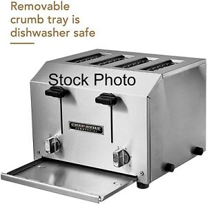 Chef built cct 250 Heavy Duty Commercial 4 Slice Toaster