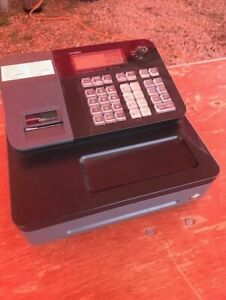 Casio Se s700 Electronic Cash Register keys Manual And 6 Rolls Thermal Paper
