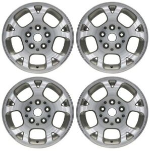 New Set Of 4 16 X 7 Wheel Rim 1999 2000 2001 2002 2003 Jeep Grand Cherokee