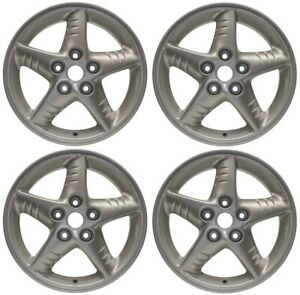 New Set Of 4 16 X 6 5 Replacement Wheel Rim For 1999 2005 Pontiac Grand Am
