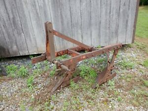 Allis Chalmers D 10 D 12 Two 14 Bottom 3 Point Hitch Plow Vgc See Details