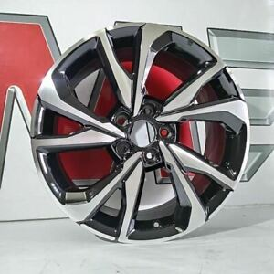 Wheel 18x8 Alloy 10 Spoke With Machined Face Si Fits 17 19 Civic 795