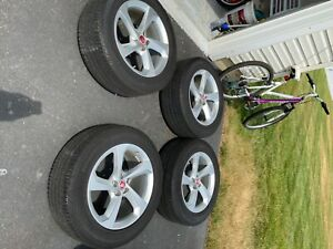 19 Jaguar F Pace Factory Oem Wheels And Tires Stock Silver 2017 2018 2019